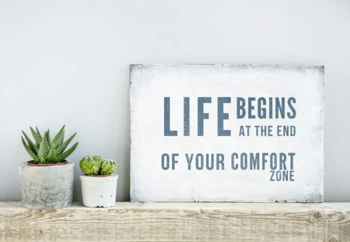 6 Gründe aus seiner Komfortzone heraus zu gehen