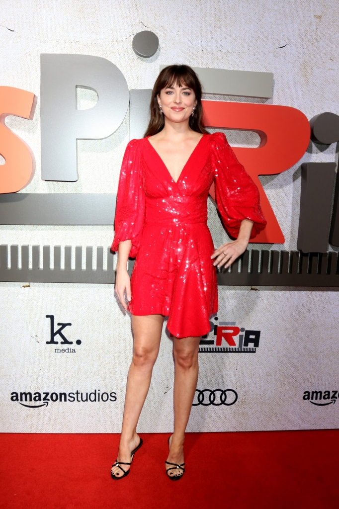 Hauptdarstellerin Dakota Johnson in Suspiria Filmpremiere