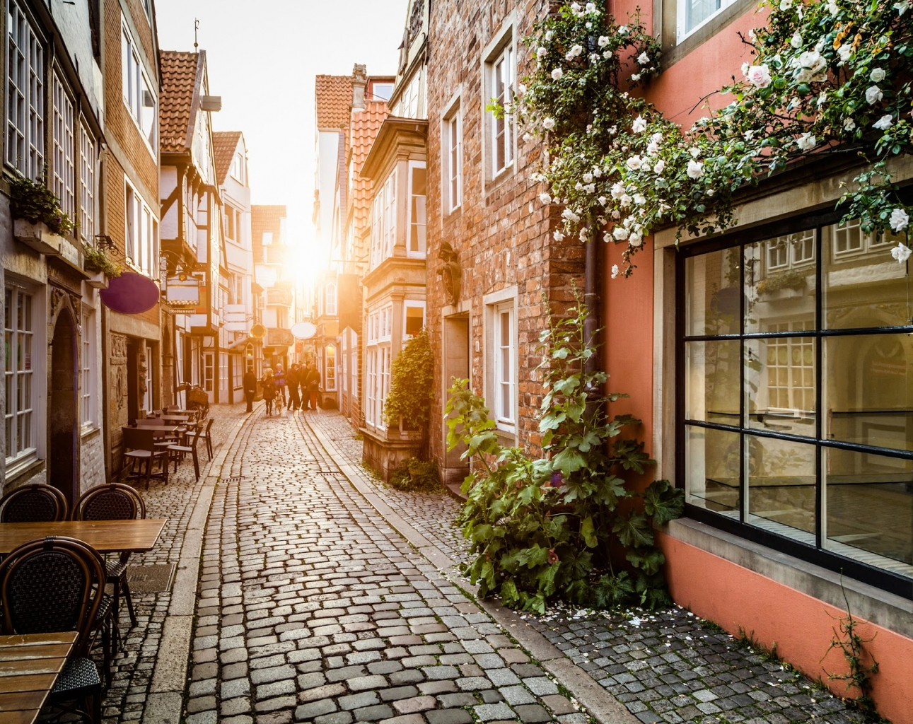 Schnoorviertel Spaziergang in Bremen