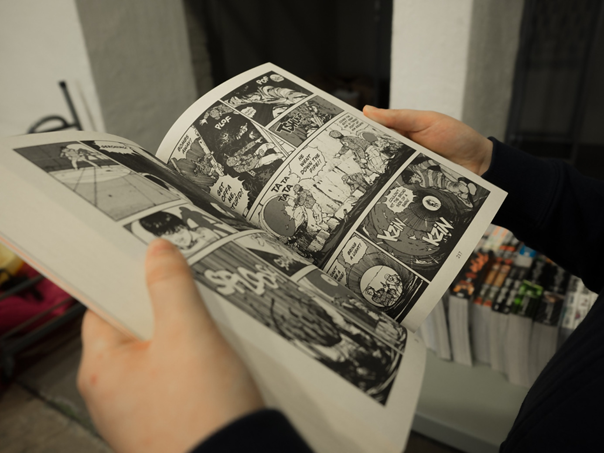 Comics lesen in München