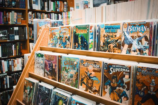 Comic Buchladen in München