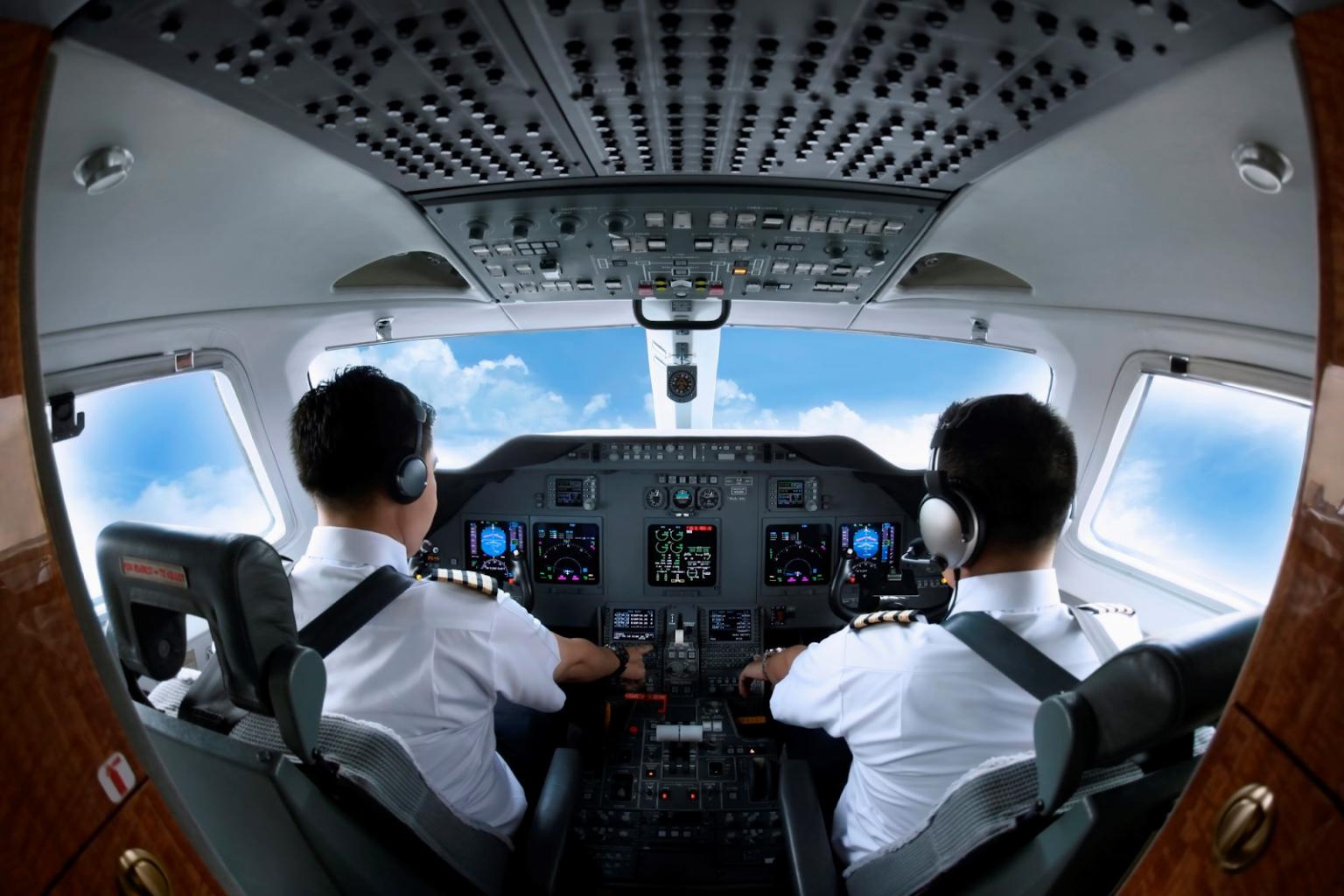 Erfolgreich im Flugsimulator in Nürnberg