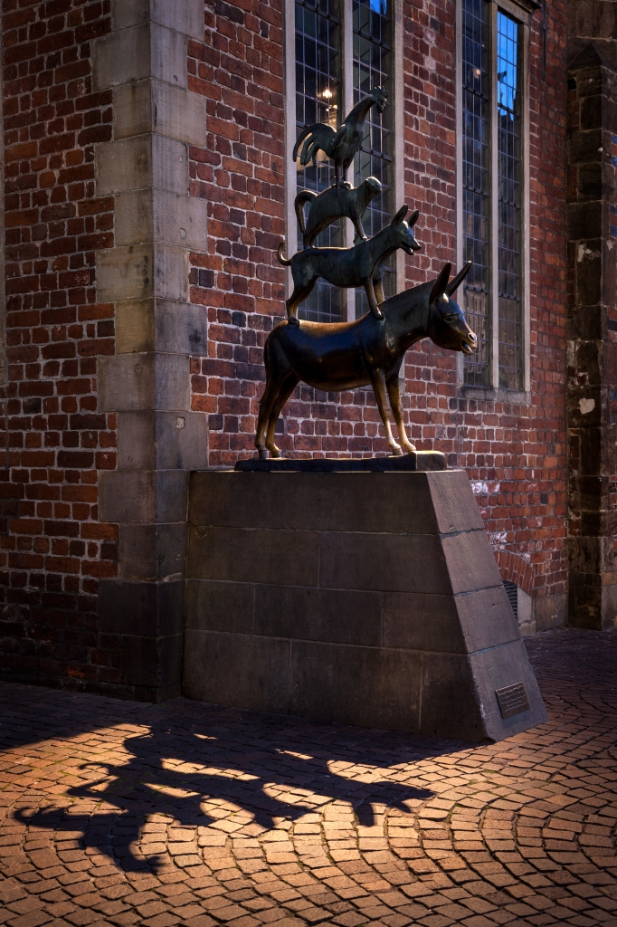 Schon die Bremer Stadtmusikanten wussten, dass gemeinsamer Spaß kreative Ideen fördert.