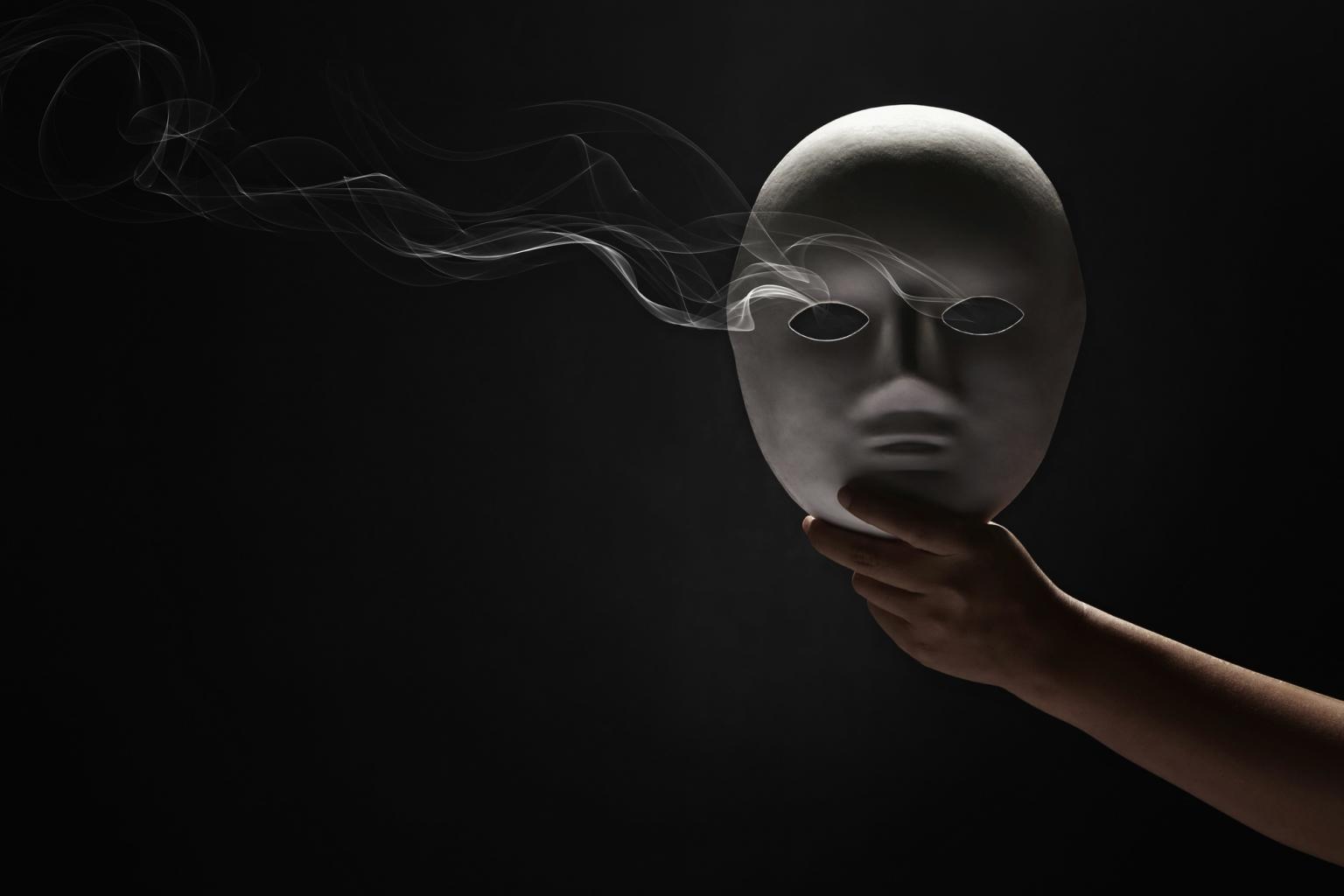 Masken: Sie verbergen so vieles!