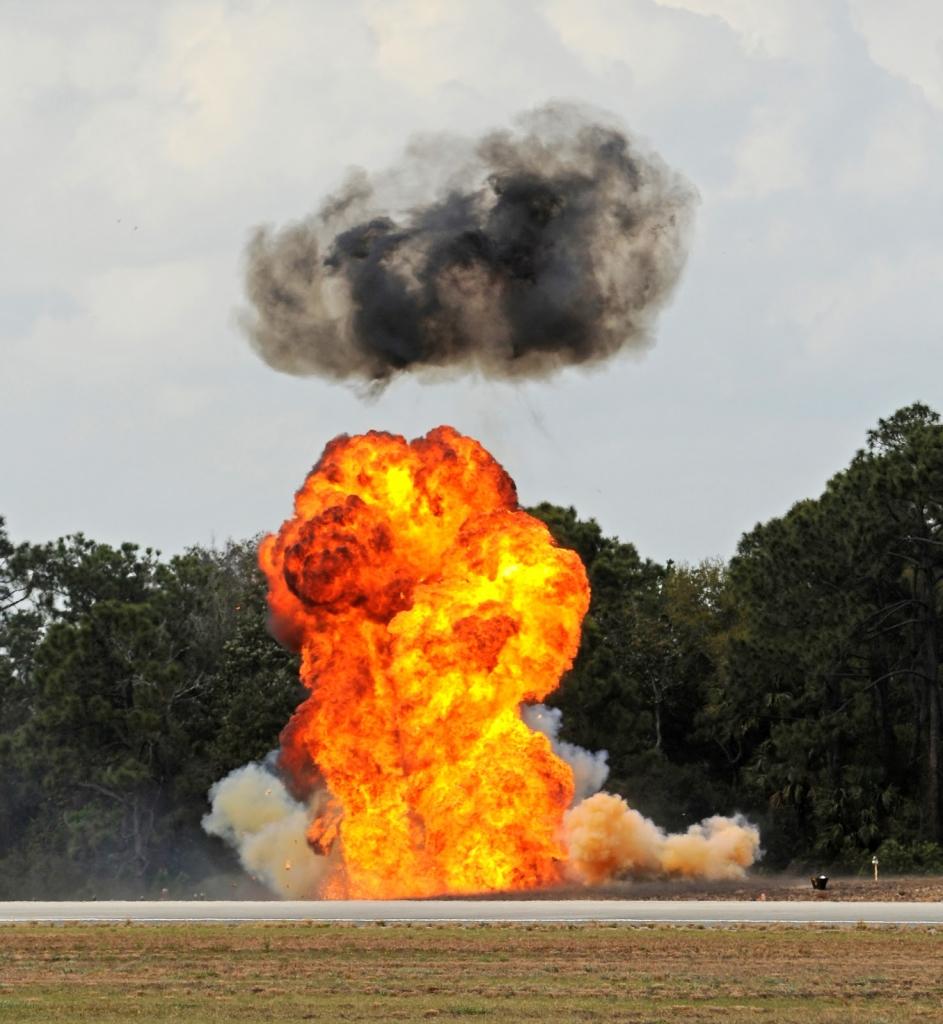 Wirkt auch im Horrorfilm: die Explosion.