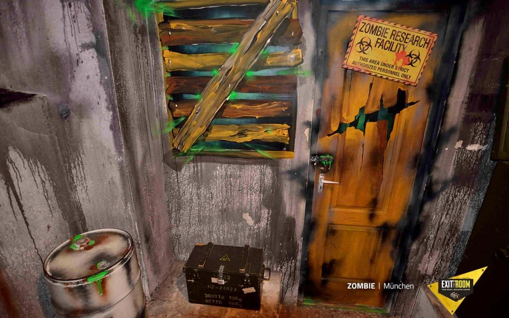 Entkomme aus dem Zombie Labor im Escape Room in München