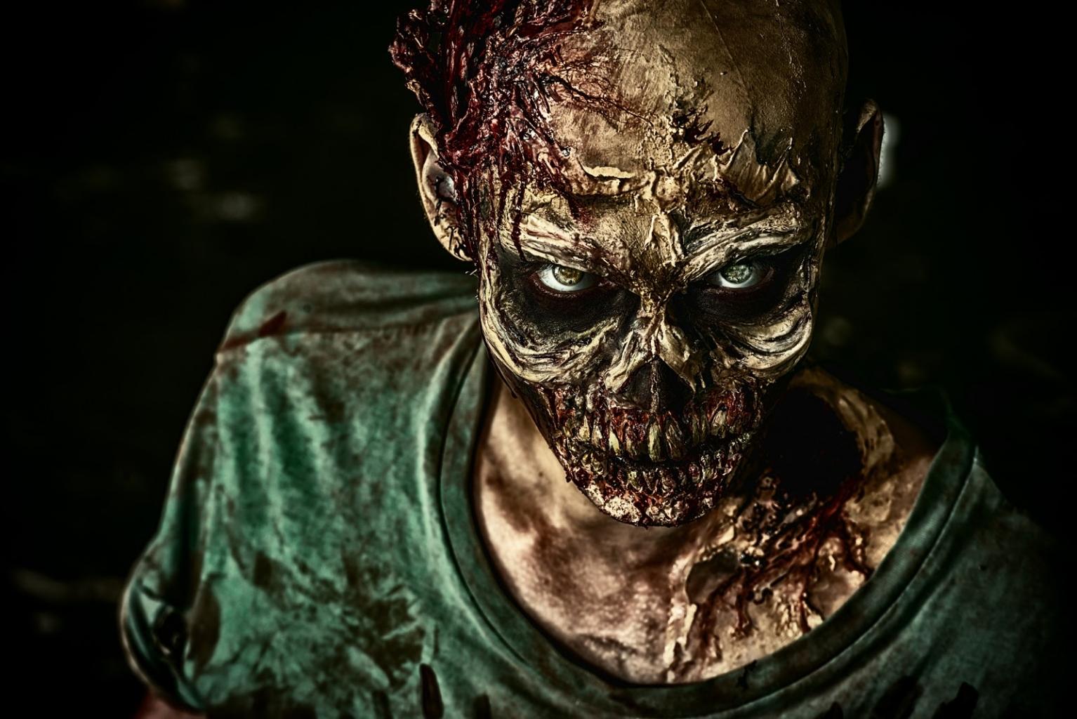 Jagd auf die Zombies machen