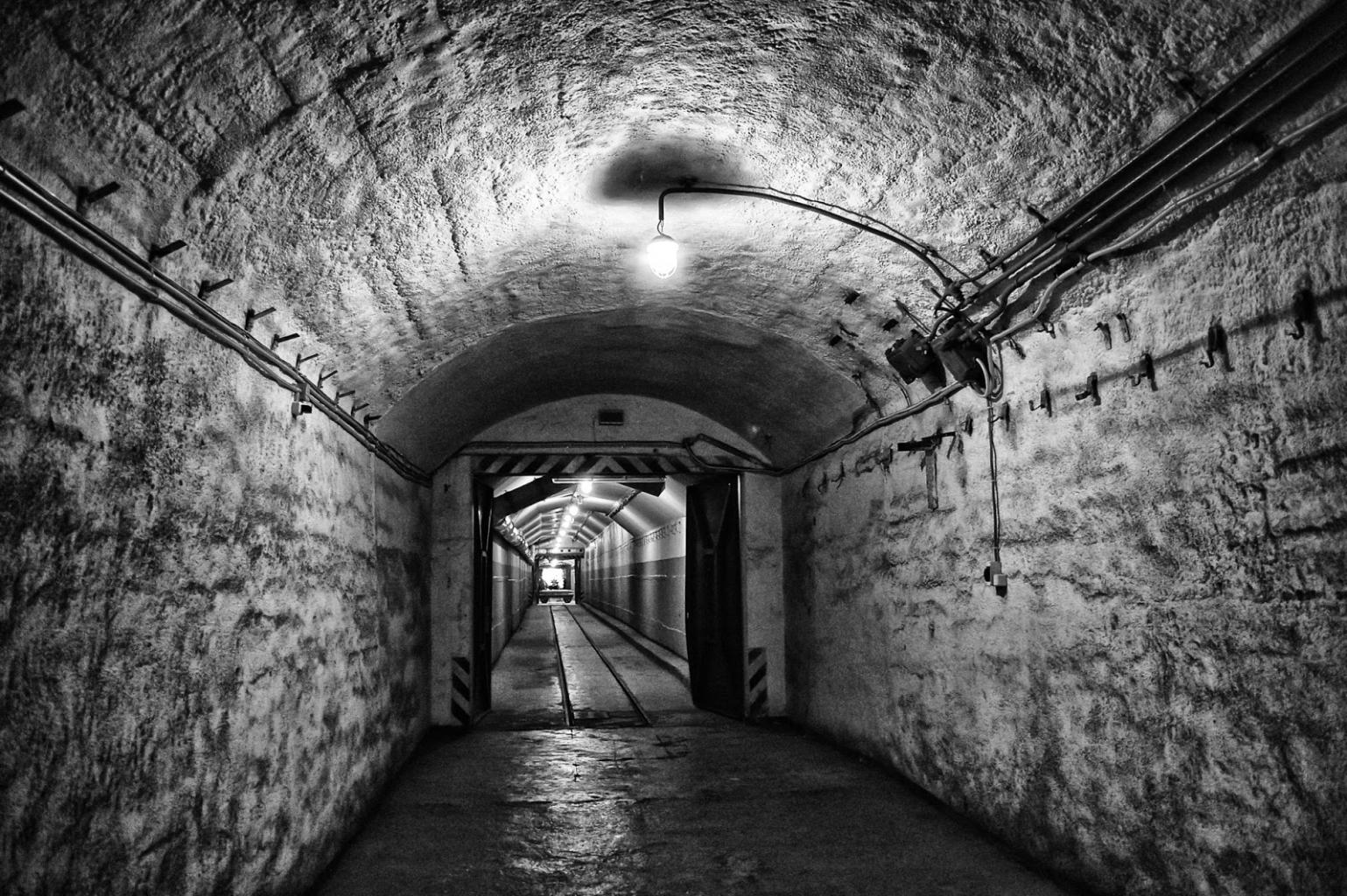 Die Felsengänge in Nürnberg schützen gut vor der Zombie Apokalypse