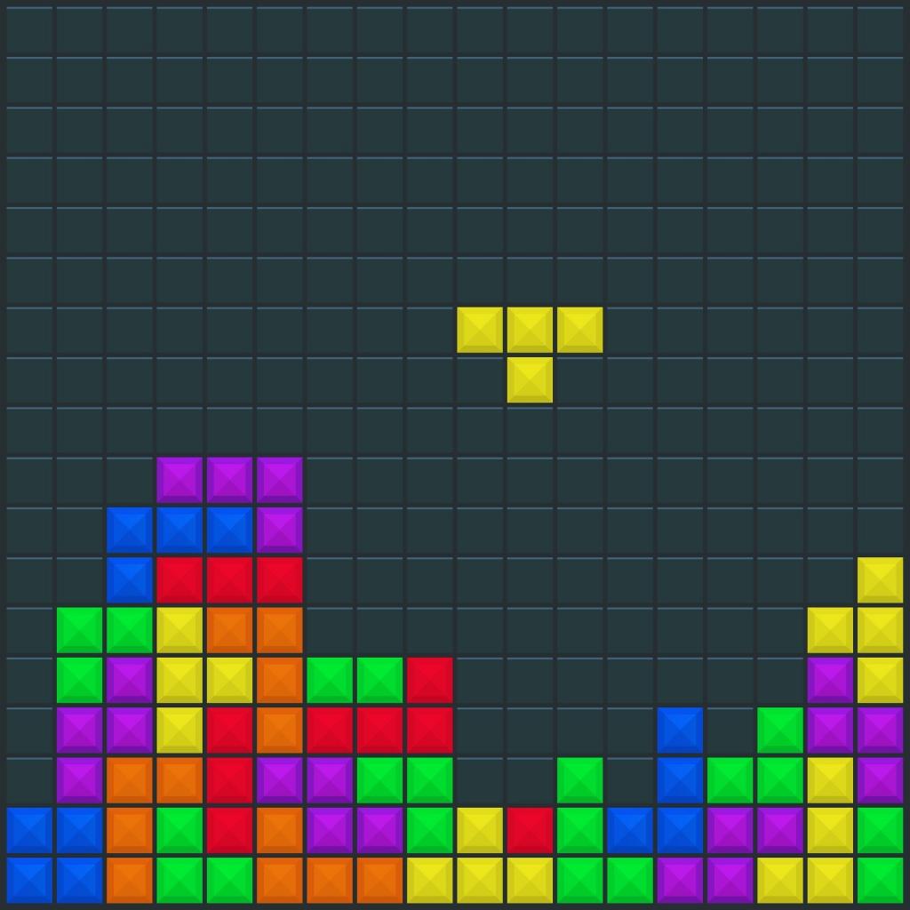 Beim Tetris löst du keine schwierigen Rätsel, übst aber Kombinationsgabe und Denkgeschwindigkeit.