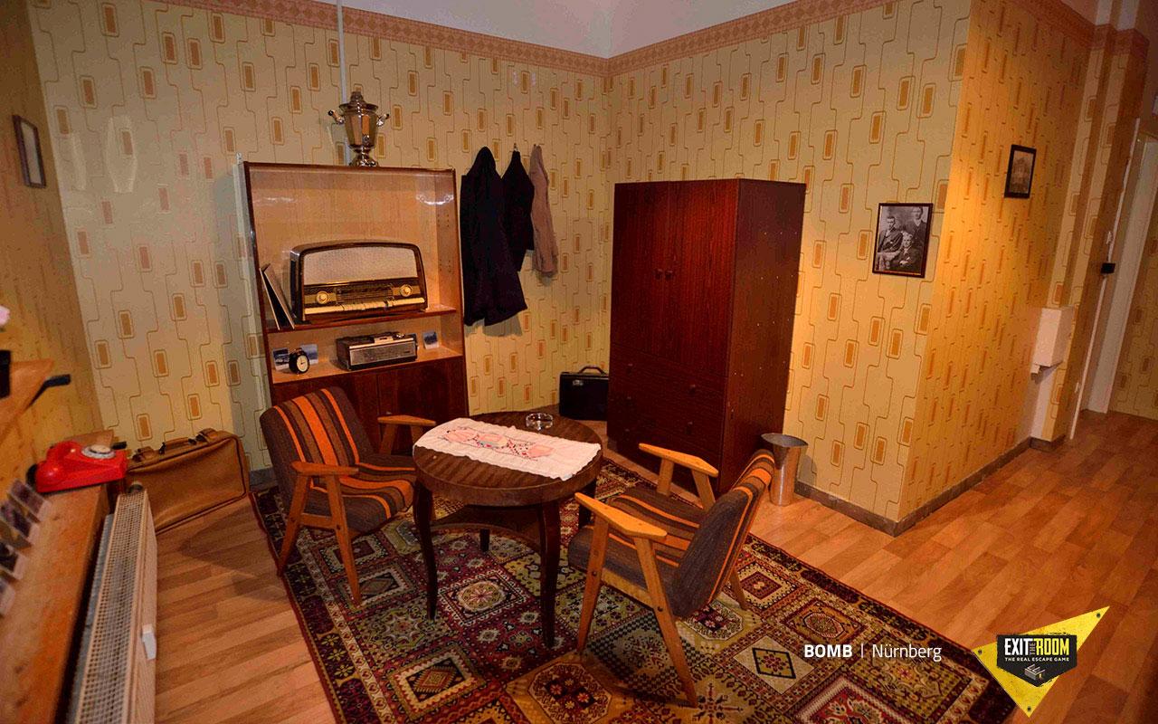 escape room escape raum bomb. Black Bedroom Furniture Sets. Home Design Ideas